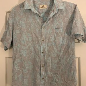 MARINE LAYER HAWIAN BUTTON DOWN SHIRT